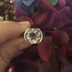 5ct Pink Amethyst .925 Ring